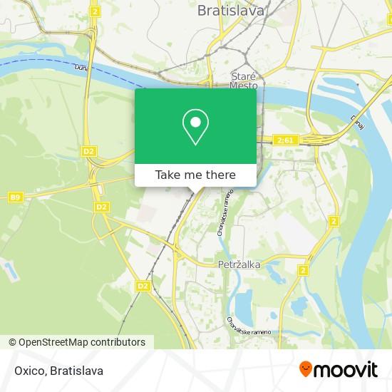 Oxico map
