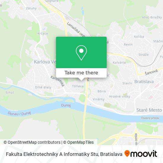 Fakulta Elektrotechniky A Informatiky Stu map