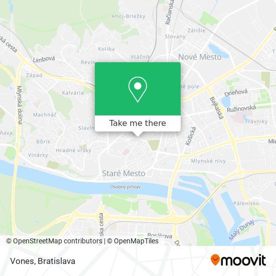 Vones map