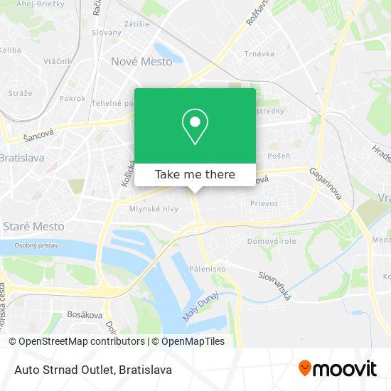 Auto Strnad Outlet map