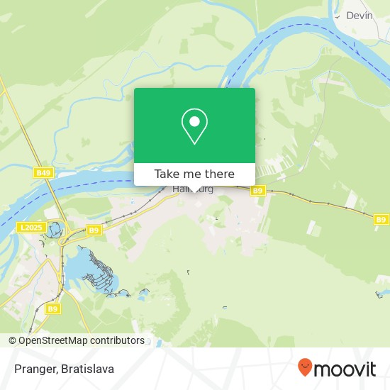 Pranger map