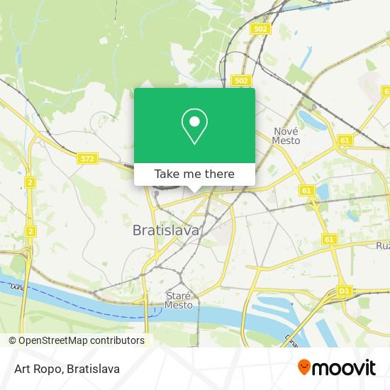 Art Ropo map