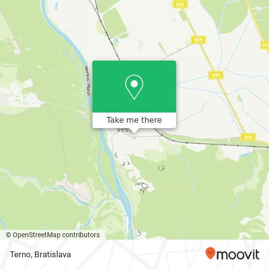 Terno mapa