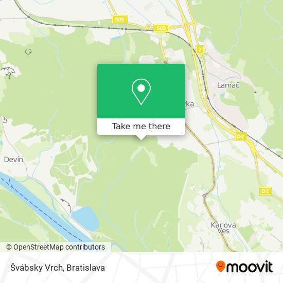 Švábsky Vrch map