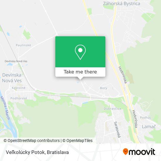 Veľkolúcky Potok map