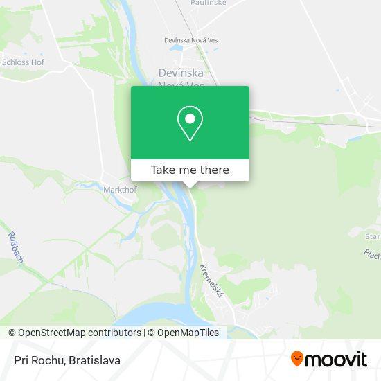 Pri Rochu térkép