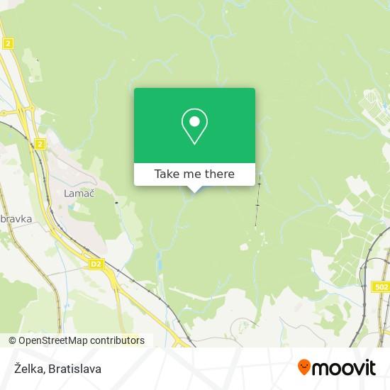 Želka mapa