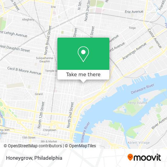 How To Get To Honeygrow In Philadelphia By Bus Subway Train Or Light Rail Moovit