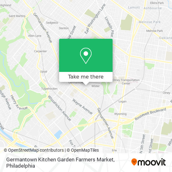 How To Get To Germantown Kitchen Garden Farmers Market In Philadelphia By Bus Subway Or Train Moovit