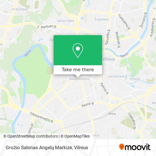 Grožio Salonas Angelų Markizė map