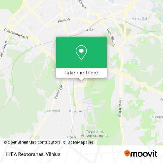 IKEA Restoranas map