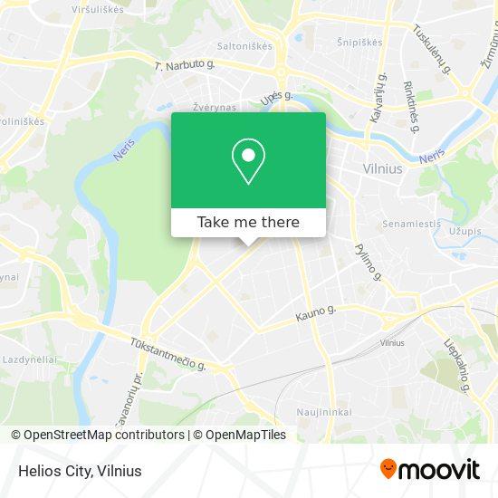 Helios City map