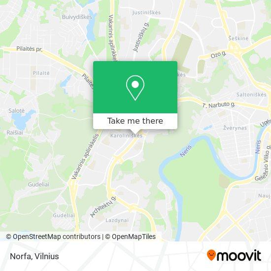 Norfa map