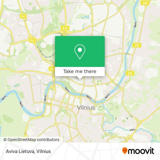 Aviva Lietuva map
