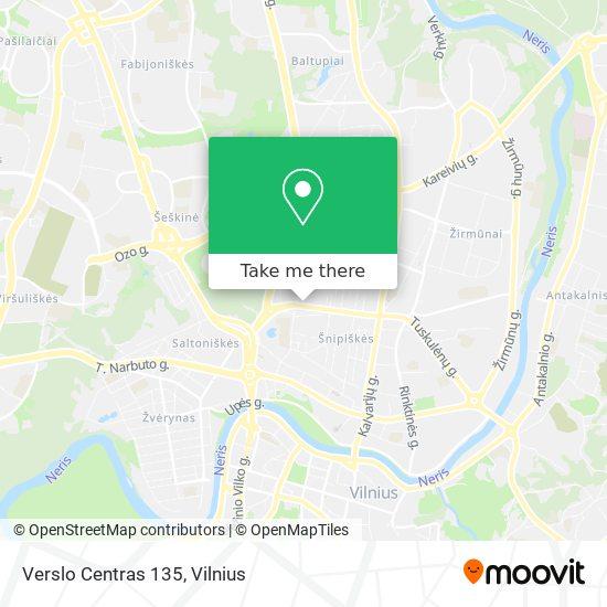 Verslo Centras 135 map