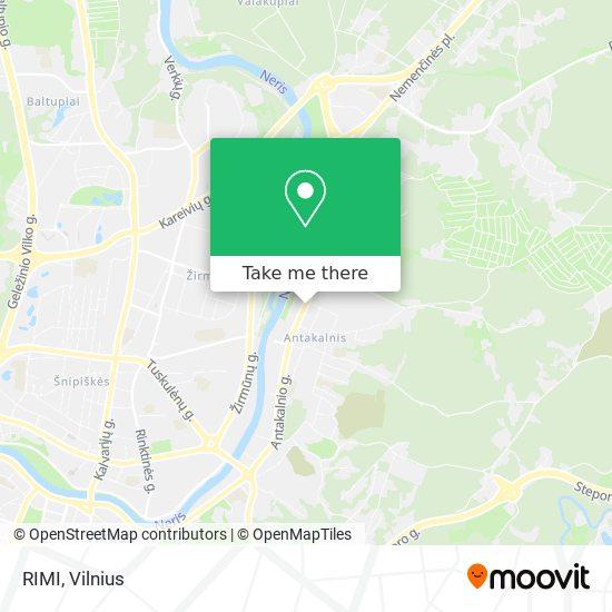 RIMI map