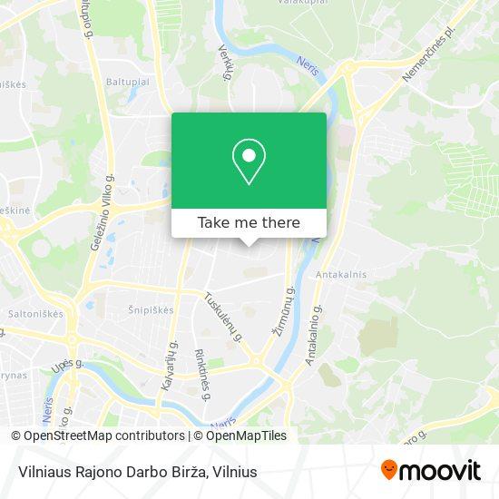 Vilniaus Rajono Darbo Birža map
