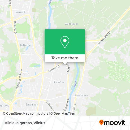 Vilniaus garsas map
