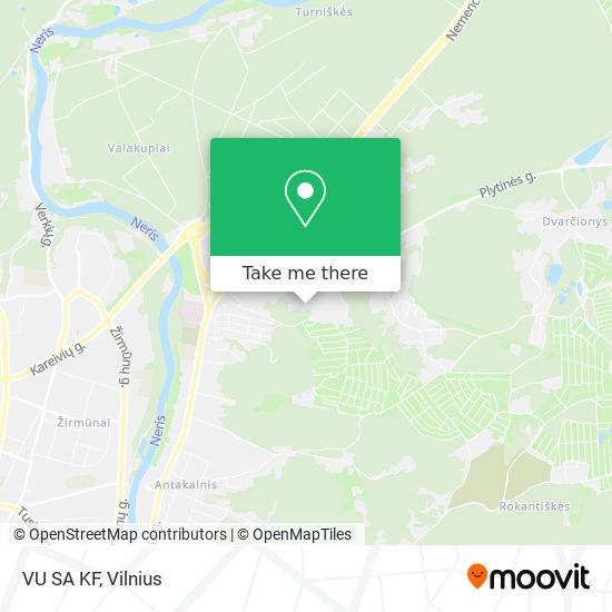 VU SA KF map