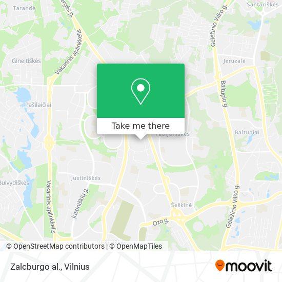 Zalcburgo al. map