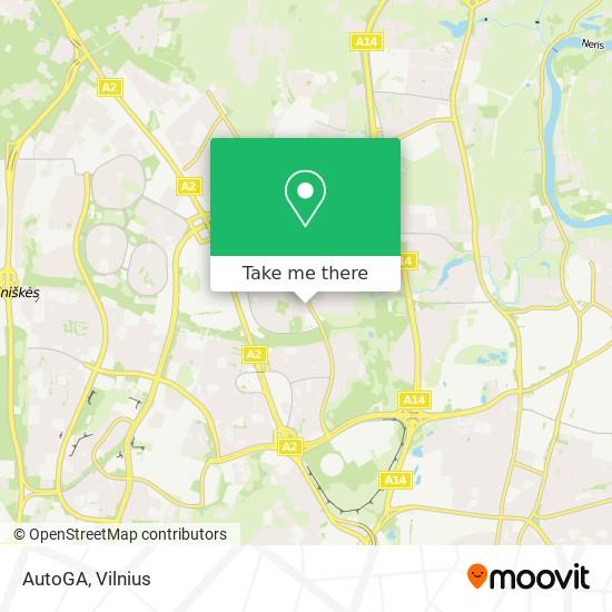 AutoGA map