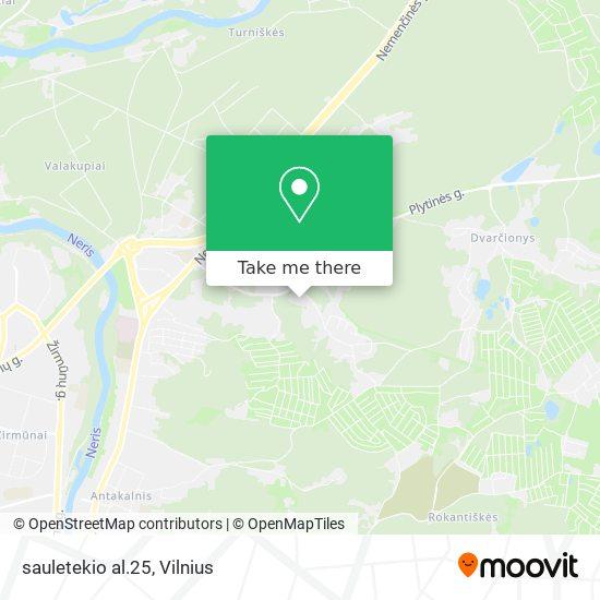 sauletekio al.25 map