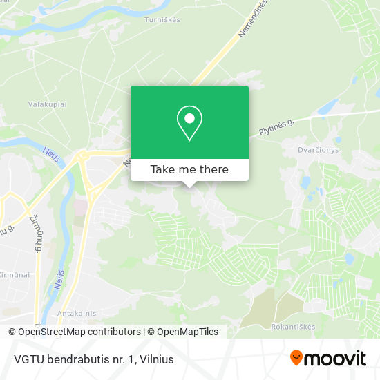 VGTU bendrabutis nr. 1 map