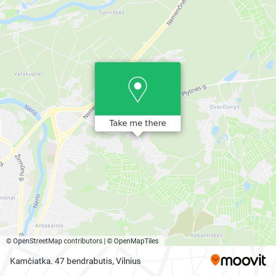 Kamčiatka. 47 bendrabutis map