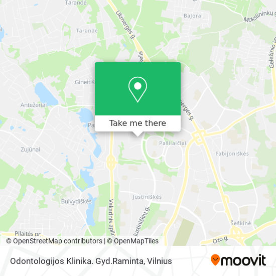 Odontologijos Klinika. Gyd.Raminta map
