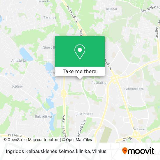 Ingridos Kelbauskienės šeimos klinika map