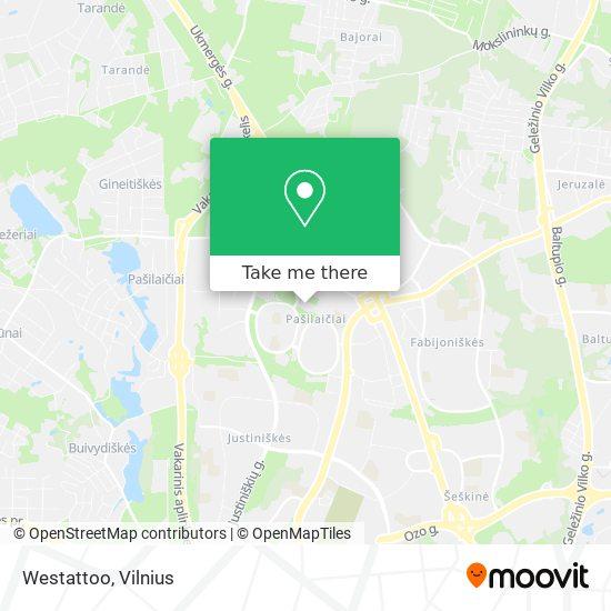 Westattoo map