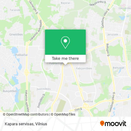 Kapara servisas map