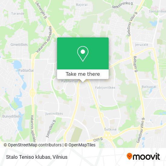 Stalo Teniso klubas map