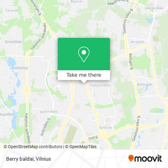 Berry baldai map