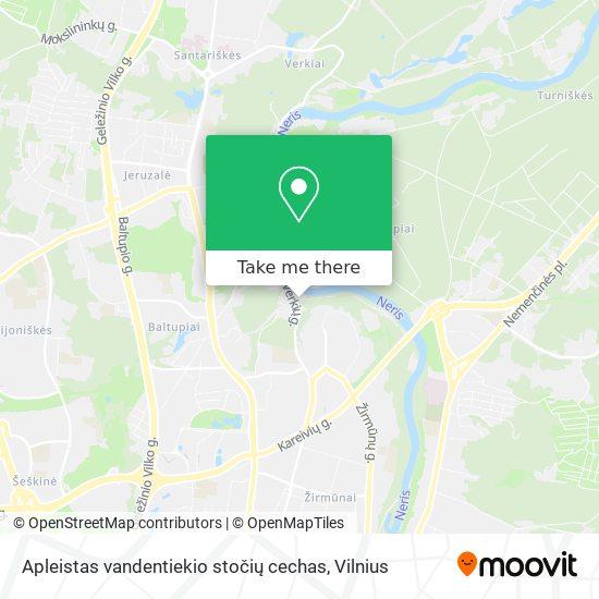 Apleistas vandentiekio stočių cechas map