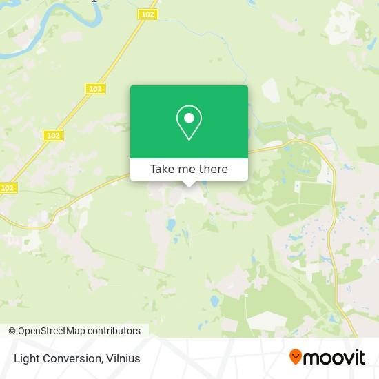 Light Conversion map