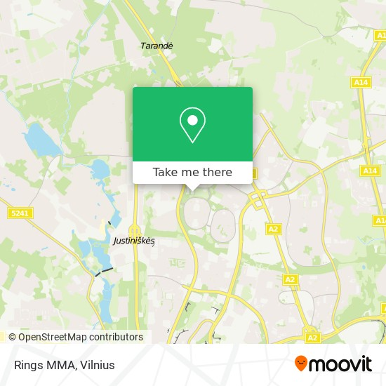 Rings MMA map
