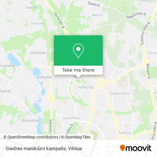 Giedrės manikiūro kampelis map
