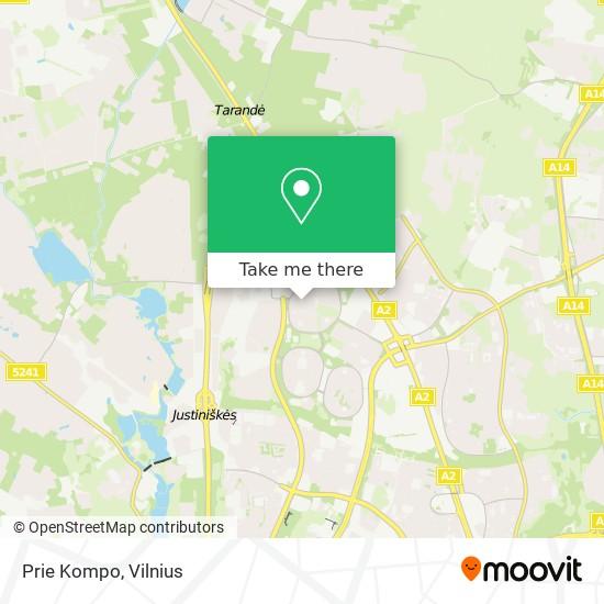 Prie Kompo map