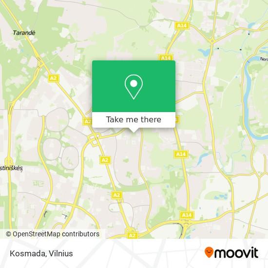 Kosmada map