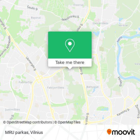 MRU parkas map