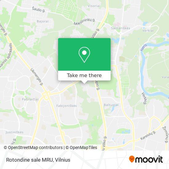 Rotondine sale MRU map