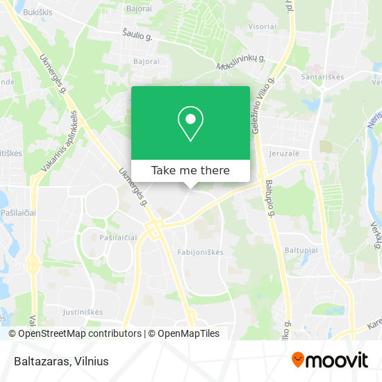 Baltazaras map