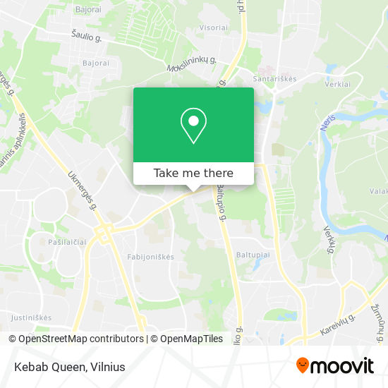 Kebab Queen map
