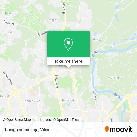 Kunigų seminarija map