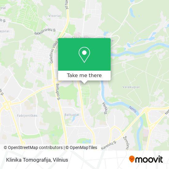 Klinika Tomografija map