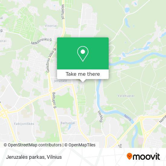 Jeruzalės parkas map