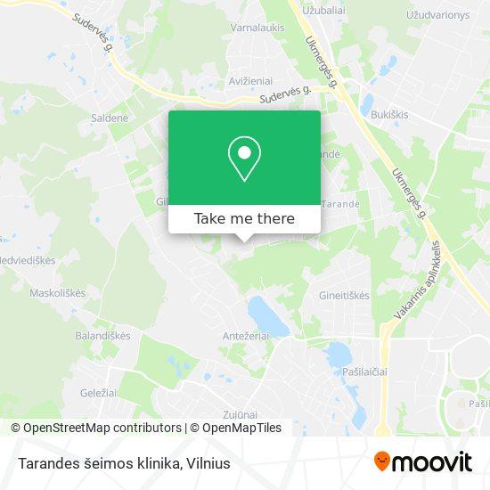 Tarandes šeimos klinika map