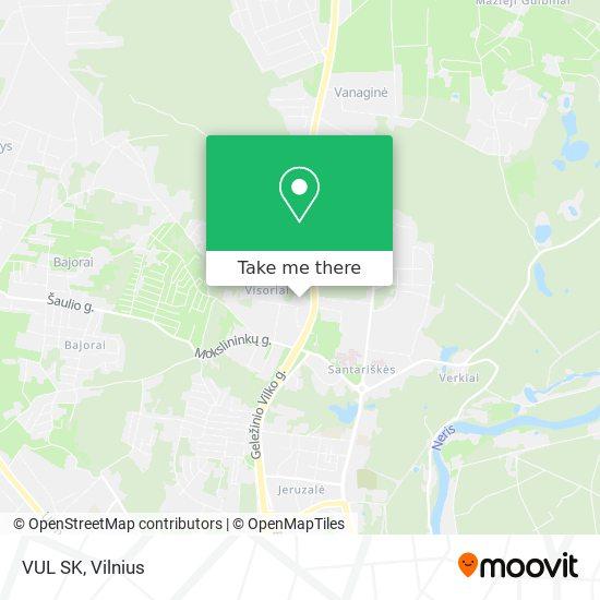 VUL SK map