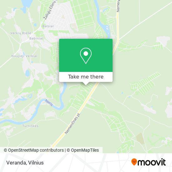 Veranda map